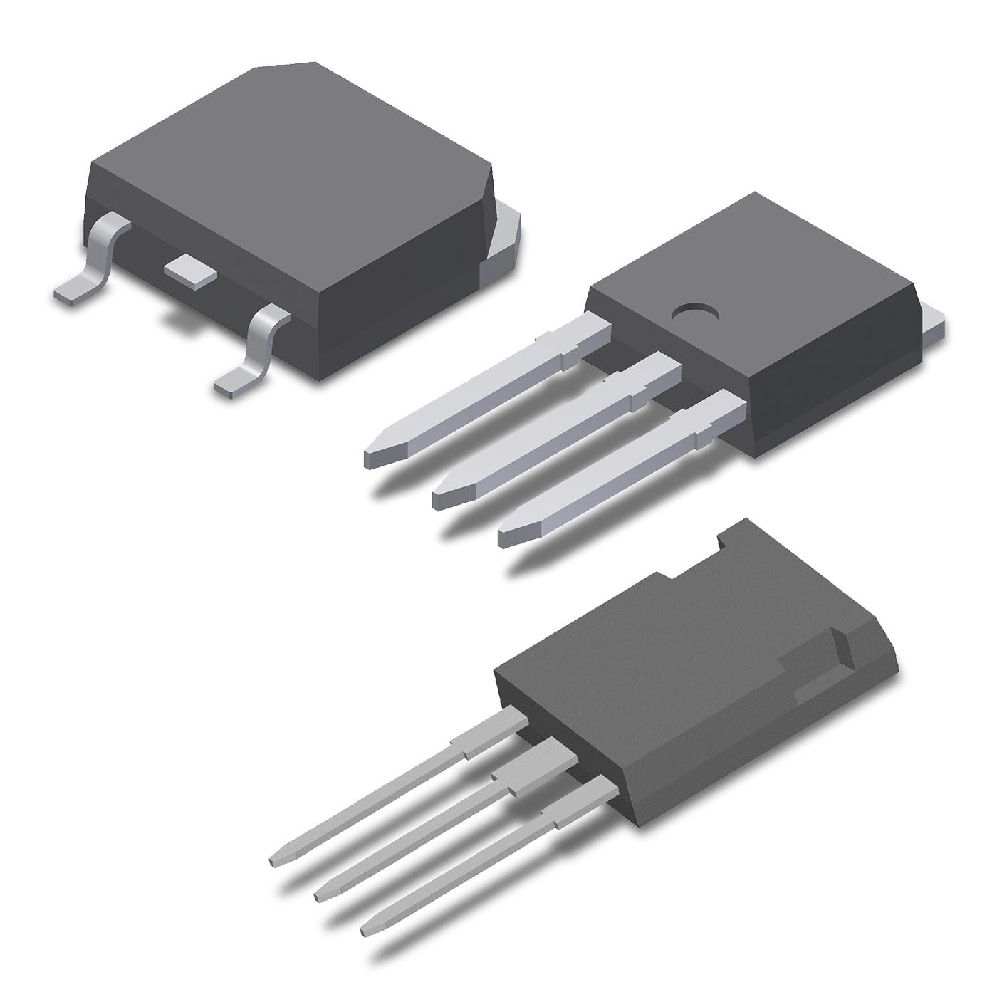 High Voltage Series - N Channel Standard Discrete MOSFETs