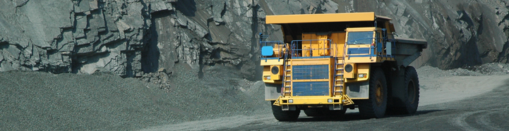 commercial vehicle mining banner