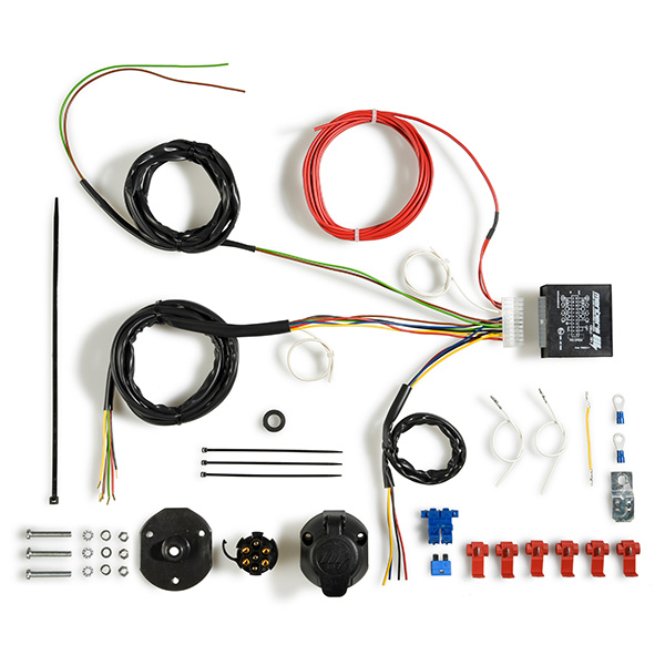 7-Pole 12V Wiring Harness Series - 7-Pole Sockets and Plugs ... on