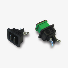 With Mounting Plate In-line Automotive Blade Fuse Holder /& Cover
