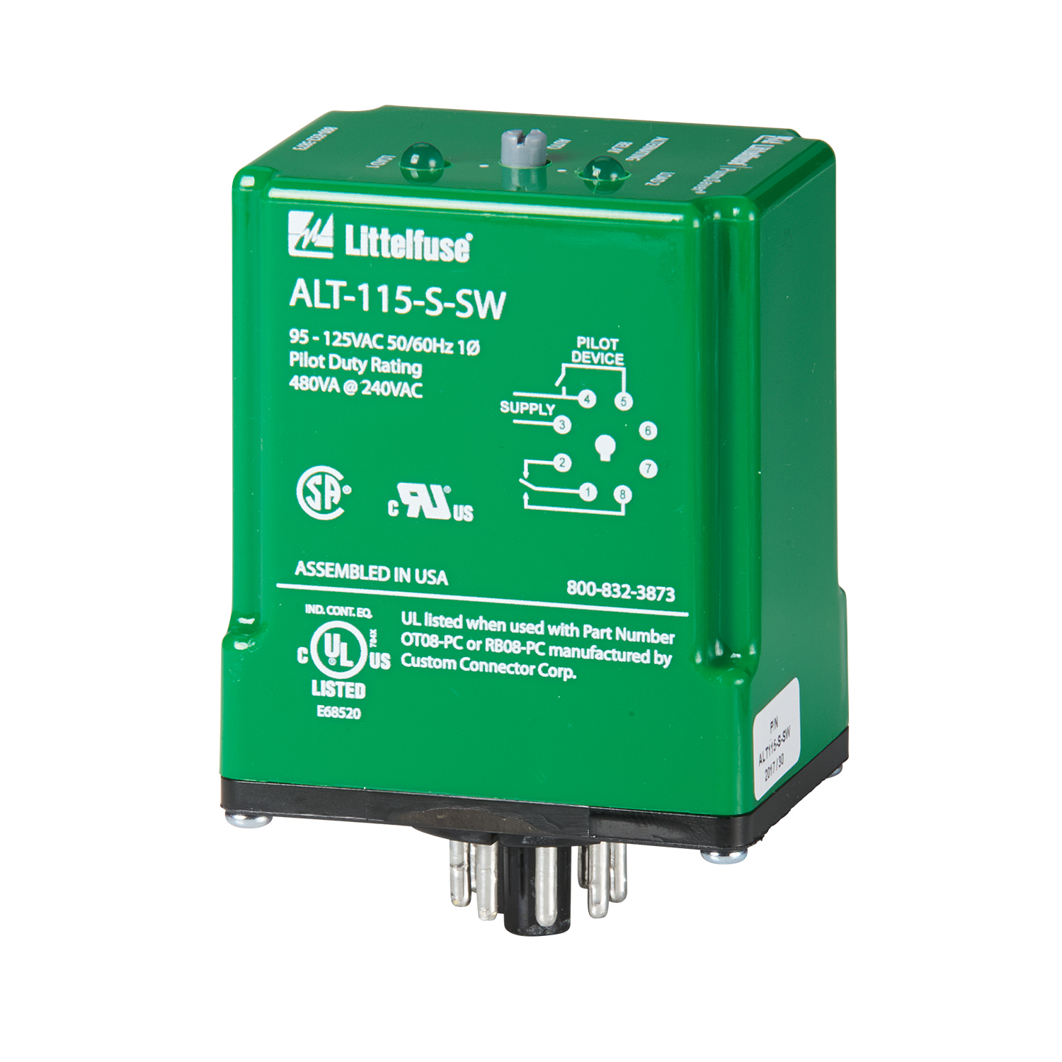 Littelfuse Pump Controls and Liquid Level Controls