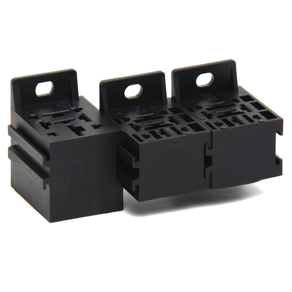Modular Fuse Relay Box : Plug in relay sockets series powr blok modular power