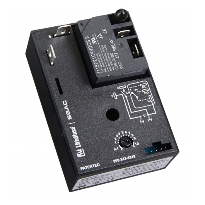Single Shot Time Delay Relay - Littelfuse on