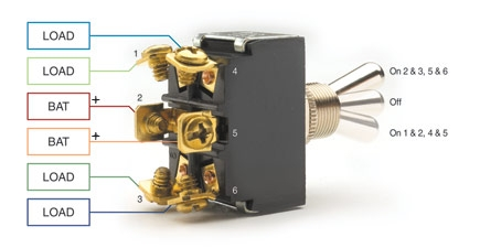 SPST, SPDT, DPST, and DPDT Explained - Littelfuse   Two Pole Double Throw Wiring Diagram      Littelfuse