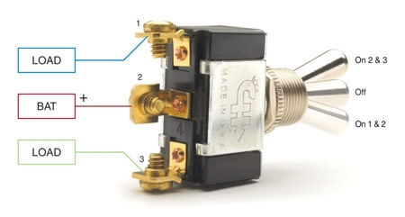 spst, spdt, dpst, and dpdt explained littelfuse 3 Pole Light Switch Wiring Diagram